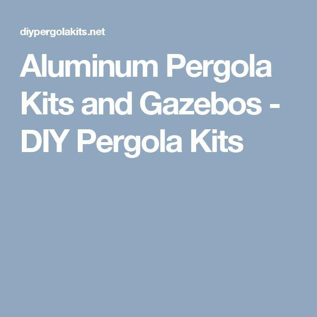 Aluminum Pergola Kits and Gazebos - DIY Pergola Kits