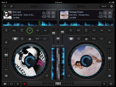 Dj mixer app by Diego Monzon