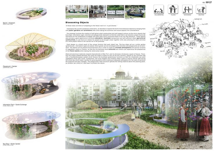 """Architecture competition """"War Port Microtecture"""" honorable mention - Yuen Fung Cheung / Artur Nitribitt"""