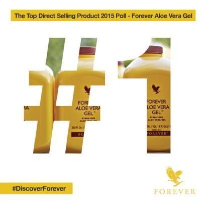 Business For Home, the Top Direct Selling Product of 2015 is our very own, Aloe Vera Gel. Forever's aloe vera is one of the purest available on the market.