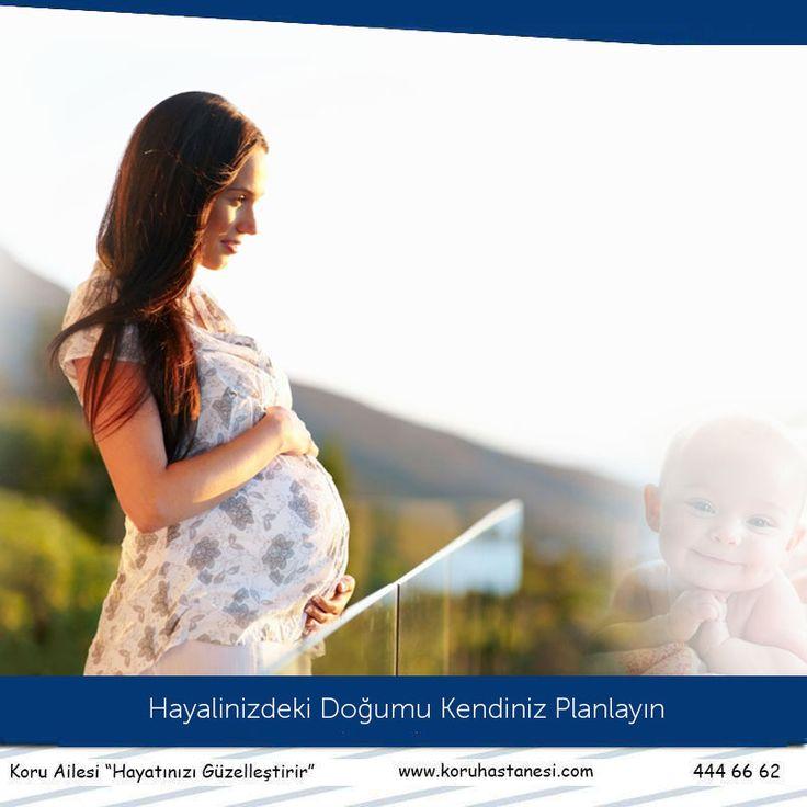 Koru Gebelik ve Doğum Paketleriyle Hayalinizdeki Doğumu Kendiniz Planlayın... www.koruhastanesi.com #gebelik #doğum #doğumpaketi #hayal #gebe #koruankara #koruailesi #anneoluyorum #hamilelik #plan #paket #anneolmak