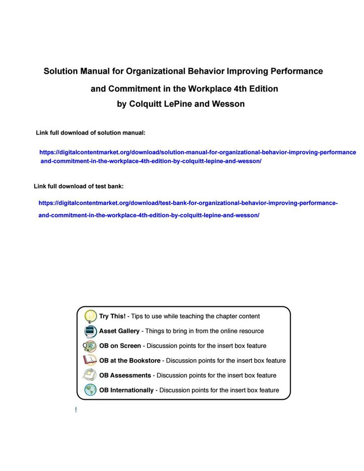16 best solution manual 2 images on pinterest download solution manual for organizational behavior improving performance and commitment in the wor fandeluxe Image collections