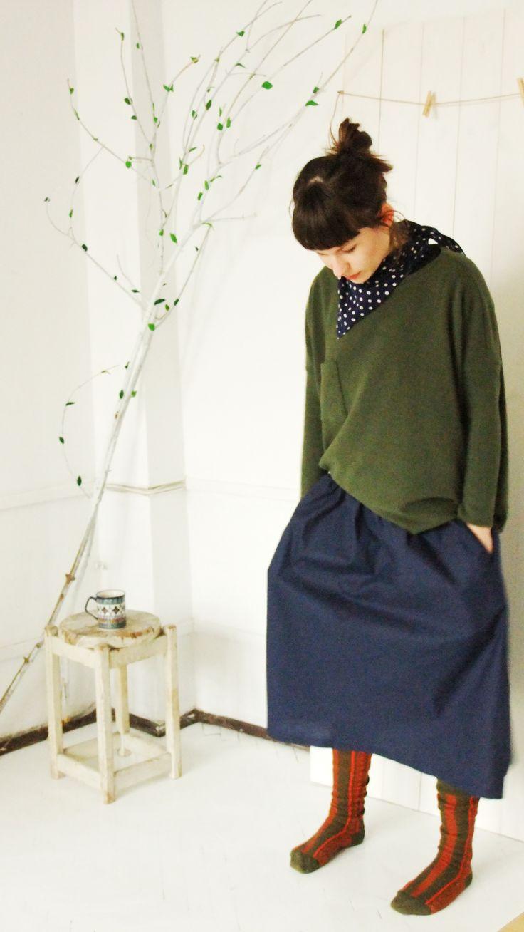 cool linen skirt