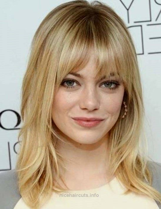 how to style pixie haircut popular medium length haircuts with bangs and layers hair 5878