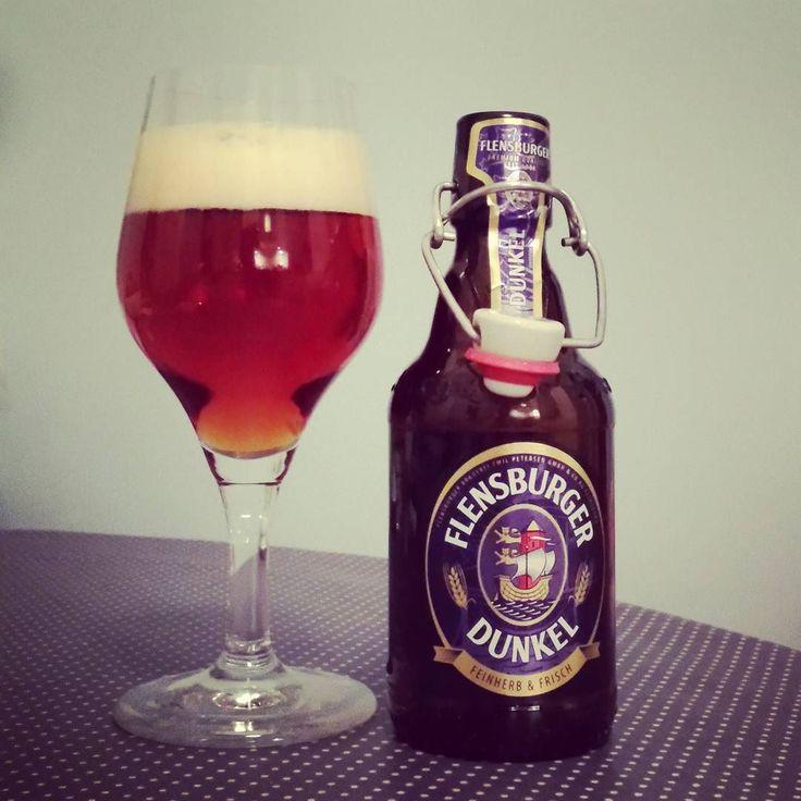 Flensburger Dunkel #bier #dunkel #flensburger #flensburg #flens #heimat #beerporn #instabeer #beerstagram #nowdrinking #kiel