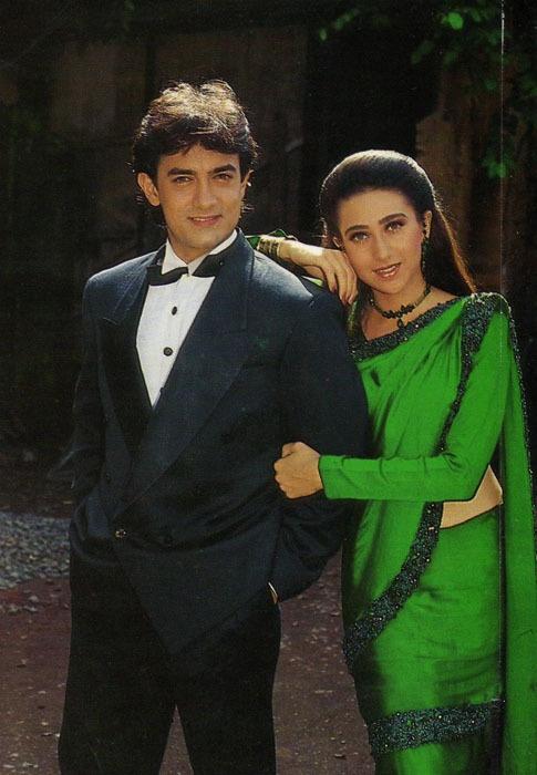 Raja Hindustani- green sari