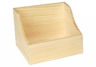 Dřevěná krabička na koření větší