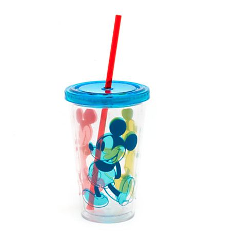 Mickey Mouse Large Tumbler with Straw, Summer Fun Collection