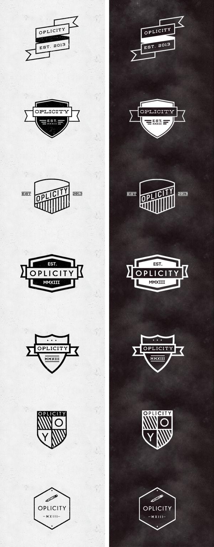 Jorgen Grotdal & Jorge Ros - Crests & Emblems Design by Jørgen Grotdal, via Behance