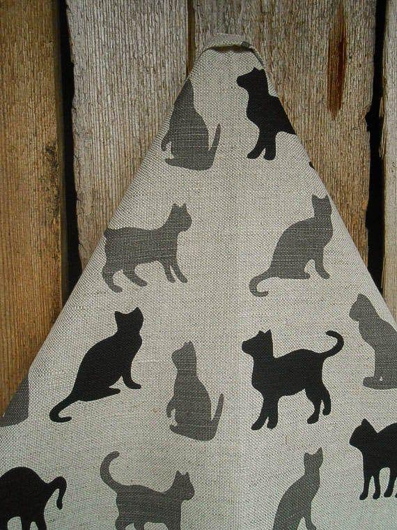 Cat 18x27 Christmas Kitchen Towel