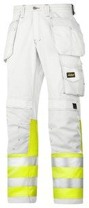 Painter's High-Vis Trousers, Class 1 — Snickers Workwear