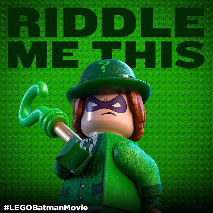 Who is the cleverest villain in Gotham? #LEGO #Batman #LEGOBatman #LEGOBatmanMovie #DCComics #SuperHeroes #EverythingIsAwesome #MashupMadness #CombineYourLEGO #UpgradeYourLEGO #BuildSomethingSuper #BuildSomethingBatman #AwesomeAwaits #TheRiddler