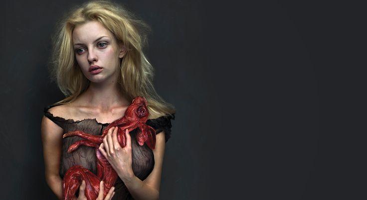 Andrzej Dragan | The art of dark portraiture - London 2014