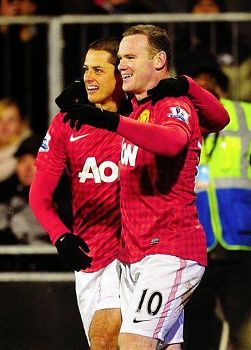 Rooney and Chicharito