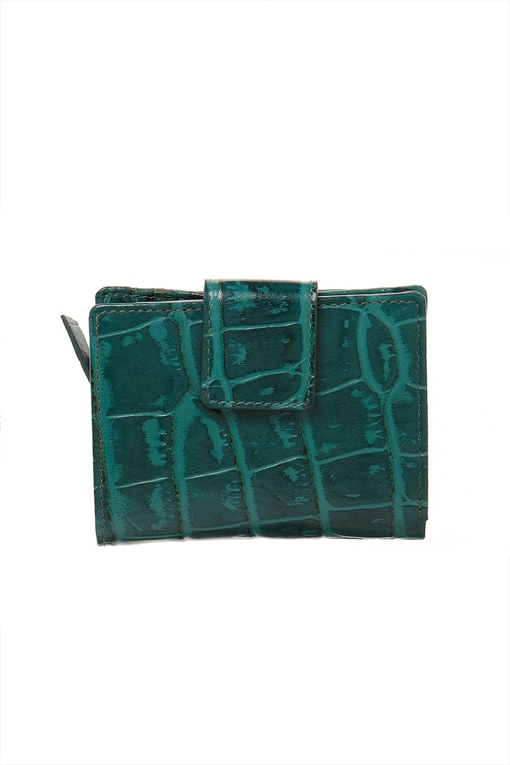 Venda Loxwood / 8232 / Pequena Marroquinaria / Carteira de Couro Verde Esmeralda. De 60€ por 27€.
