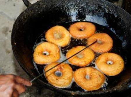 Deep Fried Cake Donuts Recipe