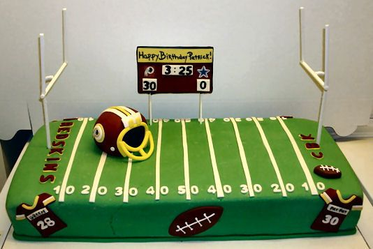 redskins birthday cake | football birthday — Football / NFL