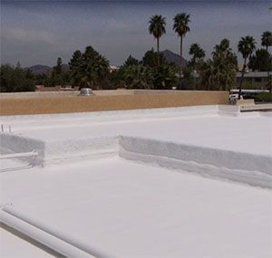 Learn More About Our Foam Roof Services In PHX