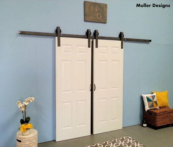 Matériel de porte de grange coulissante par MullerDsgHardware                                                                                                                                                                                 Plus