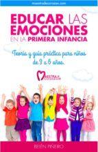 educar las emociones en la primera infancia: En este libro encontrarás todos los recursos para ofrecer a los niños una base de aprendizaje social y emocional. A través de diversas actividades los pequeños adquirirán pequeñas herramientas para gestionar sus emociones; tranquilizar sus mentes; relajar el cuerpo; sentirse cómodos consigo mismos y crear buenas relaciones con los demás.  http://katalogoa.mondragon.edu/janium-bin/janium_login_opac.pl?find&ficha_no=122799