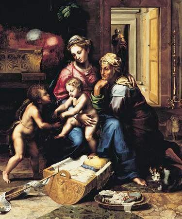 "Catisart - ""Η Παναγία με τη γάτα"" (Giulio Romano)"