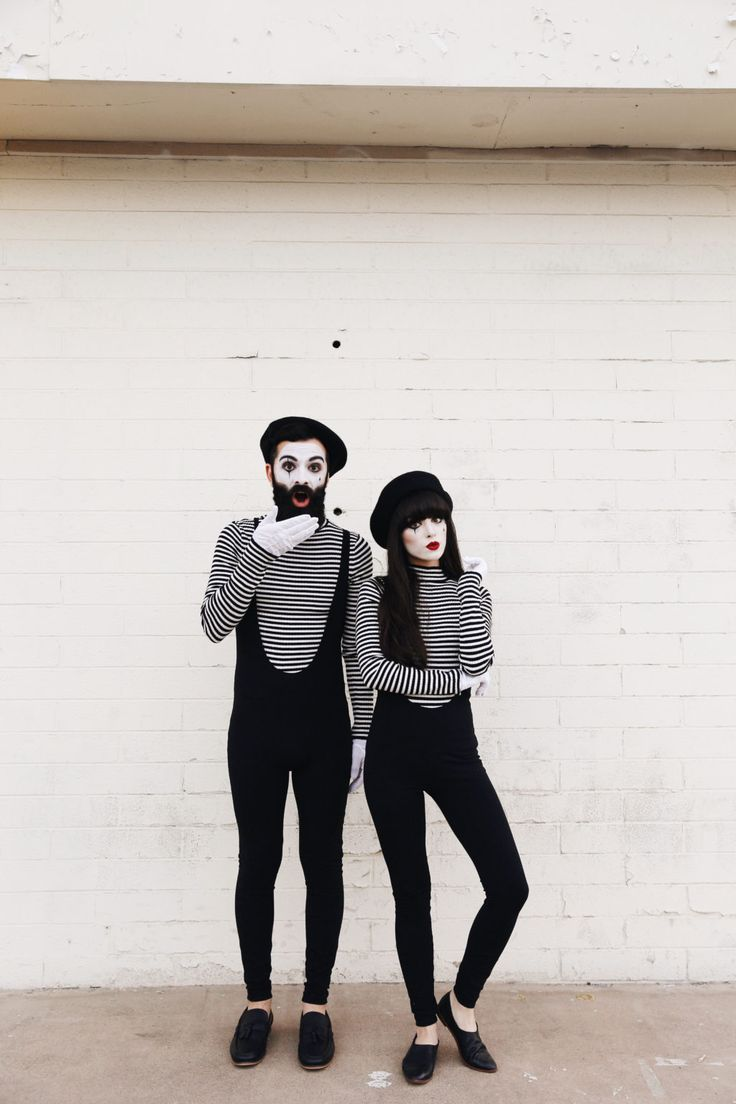 new darlings halloween couples costumes diy mimes - Mime For Halloween