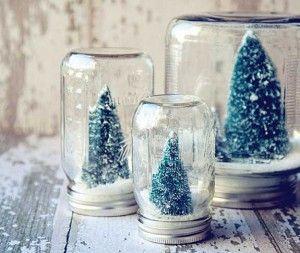 Palla di vetro natalizia