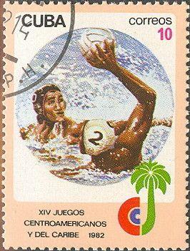 Znaczek: Water Polo (Kuba) (Central American and Caribbean Games) Mi:CU 2677