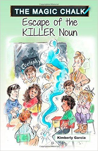 Summer Reading Recommendation for Kids: Escape of the Killer Noun - fun and suspenseful for both kids and parents!  Read it to my 6 year old during the 1st week of summer vacation!