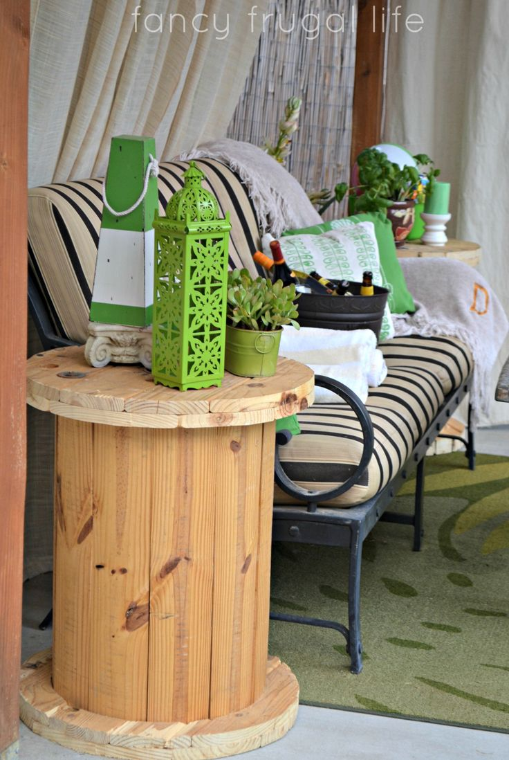 185 Best Spool Furniture Images On Pinterest | Wire Spool, Wooden Spools  And Tables