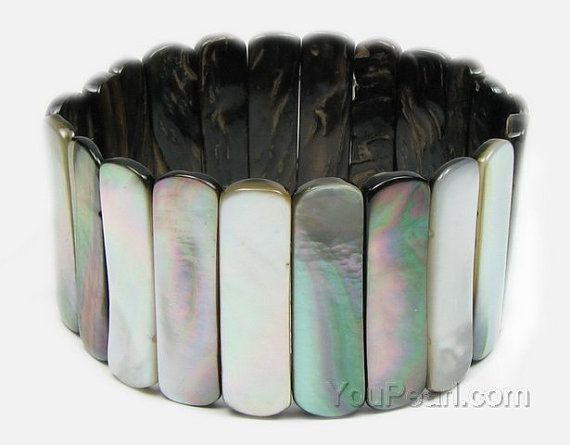 Tahitian Mutter der Perle Armband Meer Muschel Armband von YouPearl