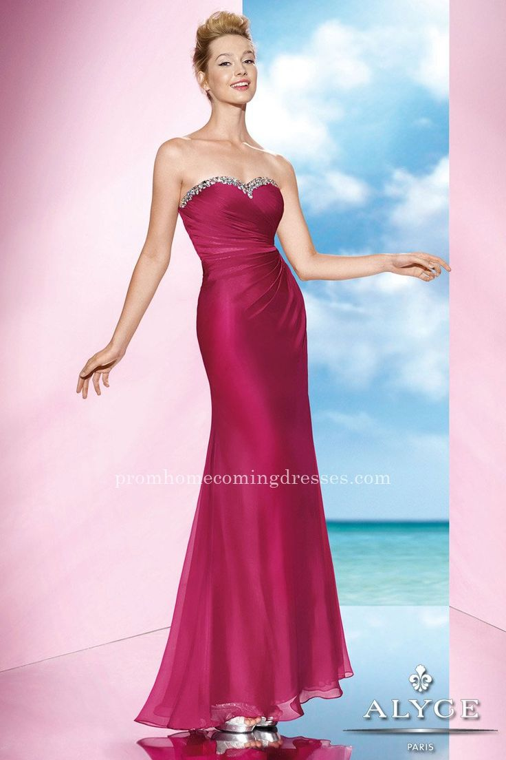 27 mejores imágenes de Long Red Dresses en Pinterest   Vestidos ...