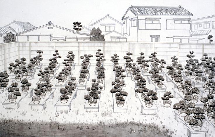 Landscape of 100 Bonsai 100個の盆栽の風景 2008
