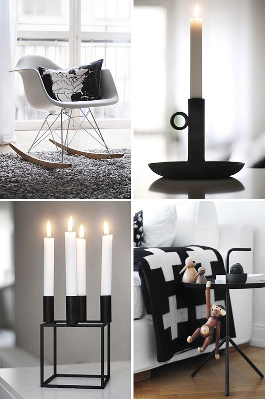 Via Trendenser | Eames Rocker | Pia Wallen Blanket | Kay Bojesen Monkey | Hay Table | By Lassen Candle Holder