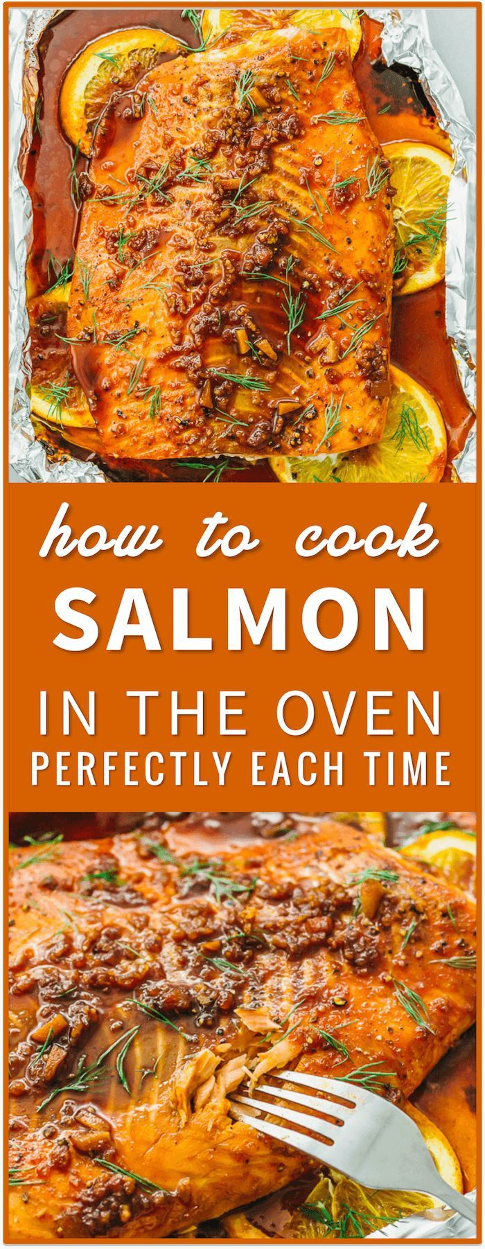 Learn how to cook salmon in the oven perfectly every time using this easy foolproof recipe. in a pan, on the grill, in foil, frozen salmon, baked, pan seared, best, patties, healthy, salad, dinner, honey, blackened