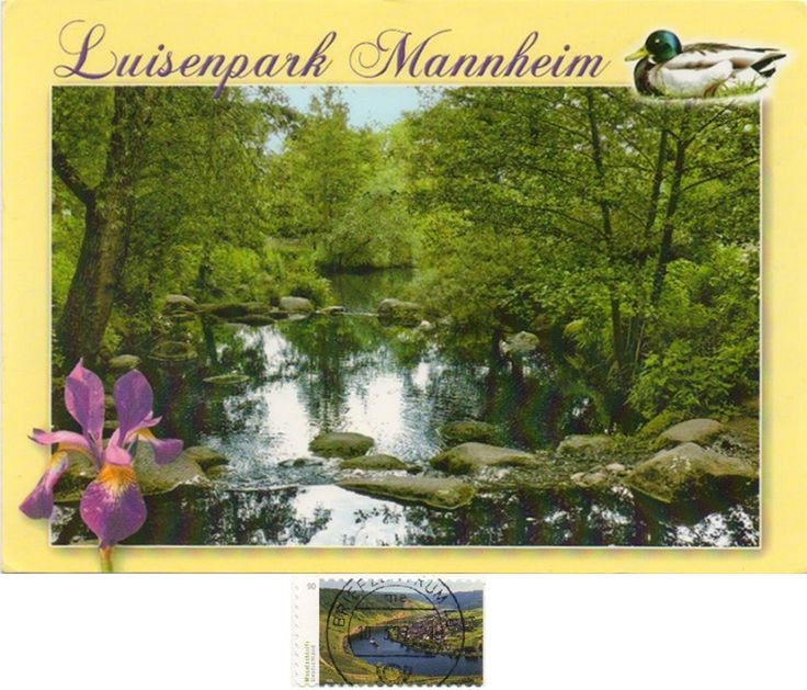 """DEU-13626 - Arrived: 2017.03.14   ---   The Luisenpark is a municipal park in Mannheim, Baden-Württemberg, Germany, whose attractions include a greenhouse, """"gondoletta"""" boats, and a variety of facilities for children. The Luisenpark was built between 1892 and 1903, formed upon the legacy of scientist professor Dr. Carl William Casimir Fox, who bequeathed 20,000 Deutsche Marks in his will to the city of Mannheim for the making of a new park."""