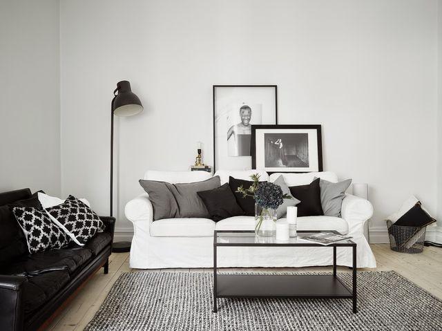 The perfect black, white and grey apartment (via Bloglovin.com )