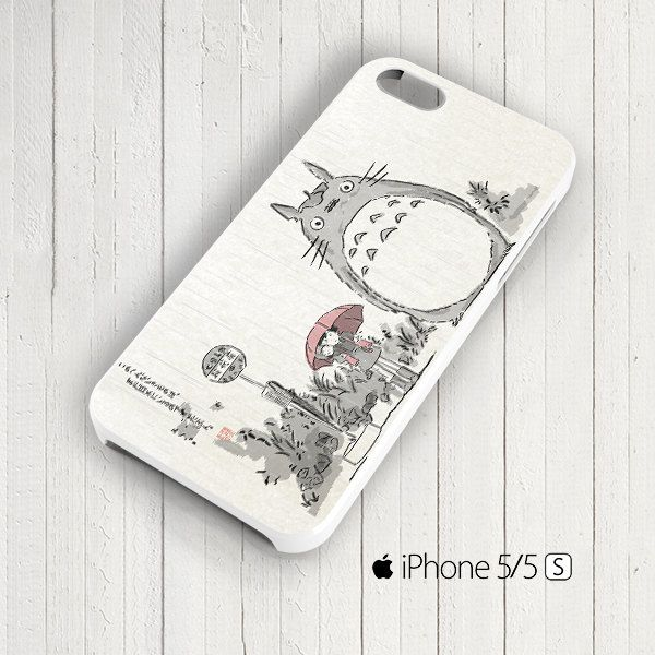 Totoro Art Anime Cartoon Studio Ghibli iPhone 5s by signaturecase