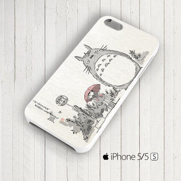 Totoro Art Anime Cartoon Studio Ghibli iPhone 5s by signaturecase