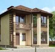 Загородный коттедж в лучших традициях современной классики | Архитектурные проекты | Журнал «Красивые дома»