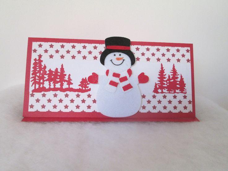 CARTE POCHETTE CADEAU Noël BILLET CHEQUE ou place de concert à offrir : Emballages cadeaux par les-petits-papiers-de-marie