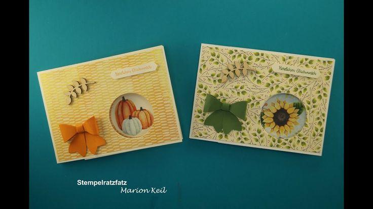 "Karte ""Peek-a-boo-Karte"" Herbst mit Stampin´ Up!"