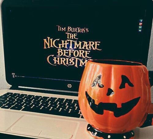 Autumn nightmare before Christmas Halloween fall