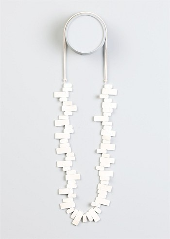 #TS14+ Pearly White Necklace $24.95  #spring