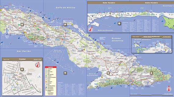 In Cuba, Maps Make a Comeback - Atlantic Mobile