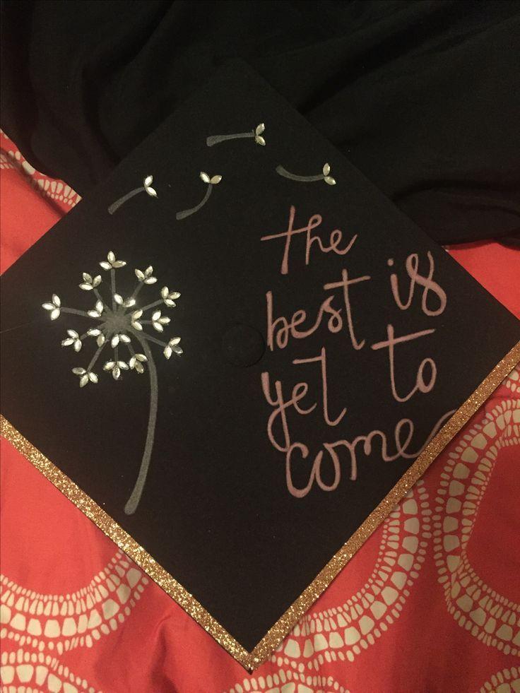 Graduation cap decoration Dandelion - #dandelion #decoration #graduation - #DecorationGraduation