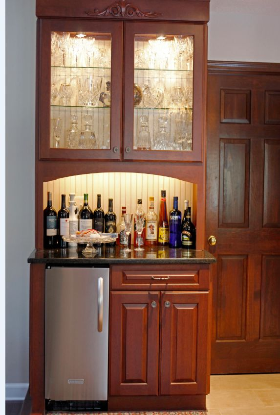 Grabill Cabinets In A Cherry Finish With A Georgetown Door Style. Kitchen  Kraft, Columbus