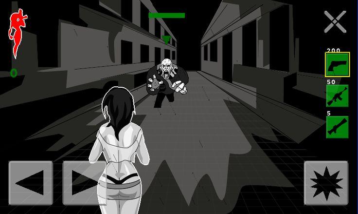 Zombie strielacka - jedna z tem, ktoru spracoval urcite kazdy game maker:D