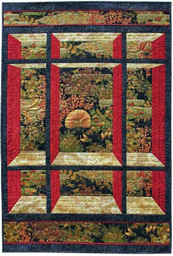 free quilt patterns with panels | visit etsy com