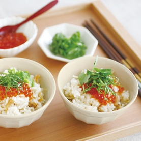 seafood mixed rice 貝柱の炊き込みごはん